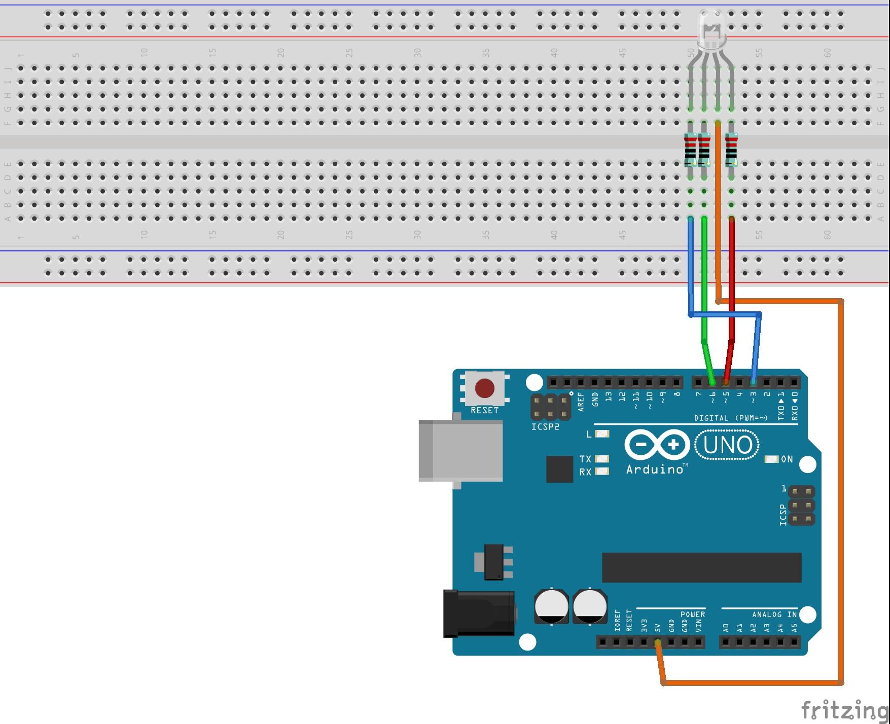 No rgb led arduino tutorials and kits for